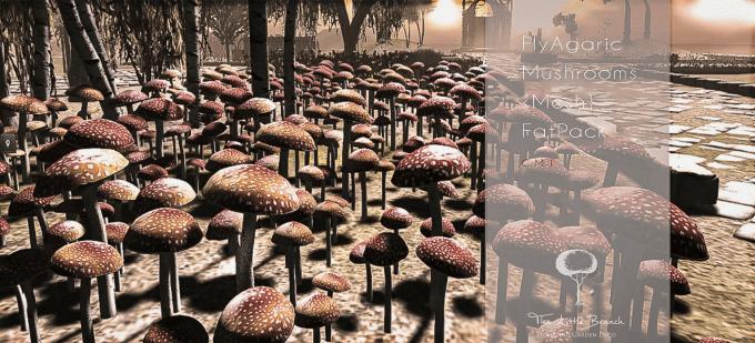 FlyAgaric_Mushrooms-Mesh{FatPack}