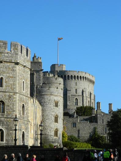 The 1000 year old Windsor Castle ...