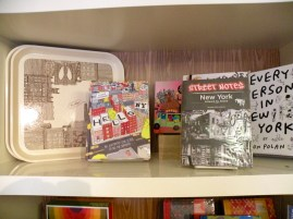 In a gift shop, they had books about NY and Brooklyn!