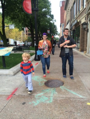 Walk through Downtown, Madison.