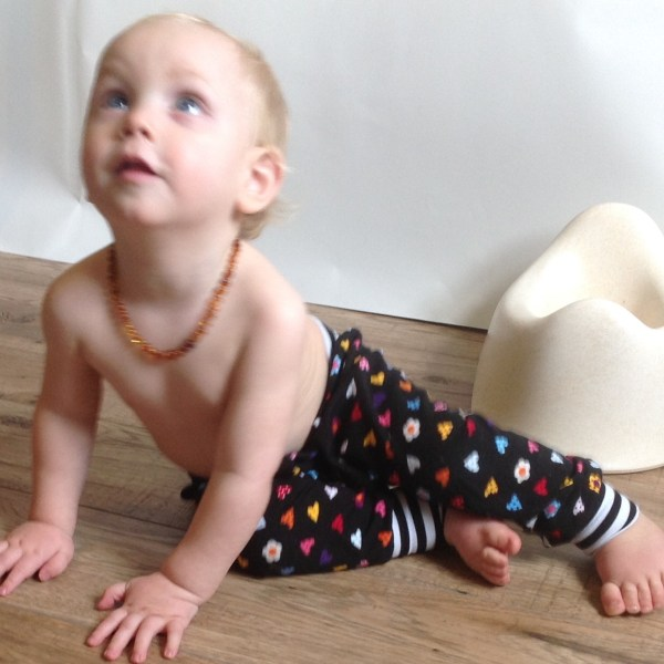Split crotch baby trousers EC clothing