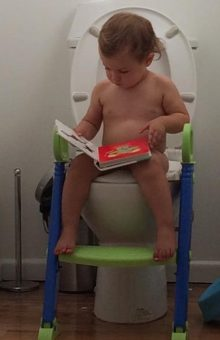 nappy free potty training