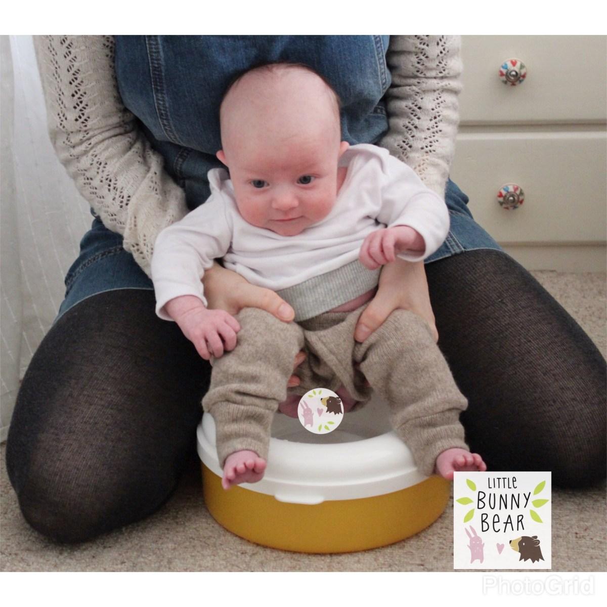 baby pottying