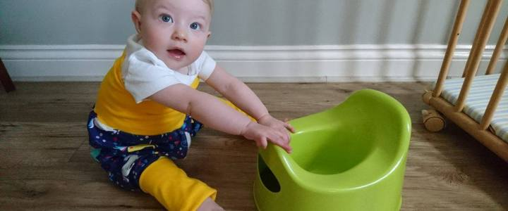 What's the best nappy for baby pottying?