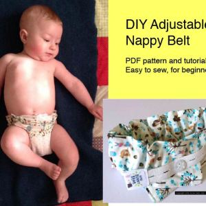 diaper belt nappy belt