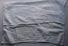 muslin nappy fold
