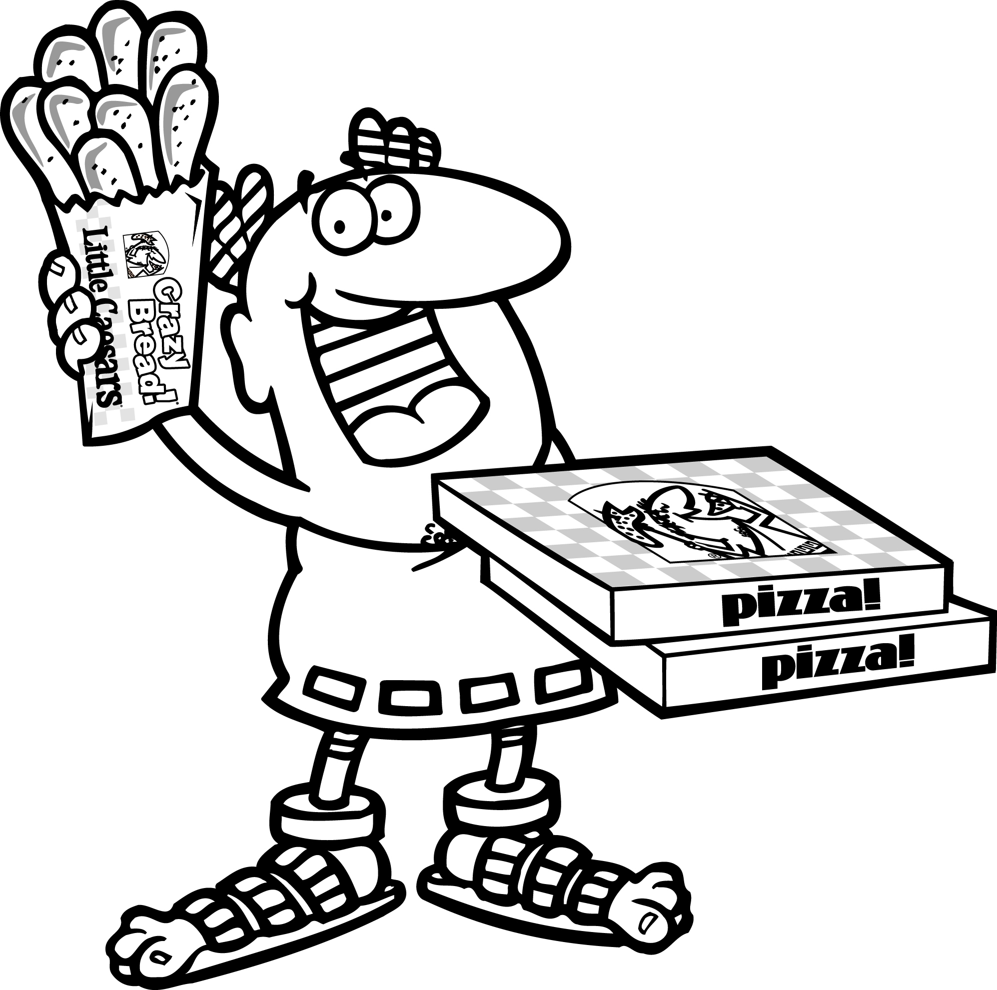 Little Caesars Coloring Pages Coloring Pages