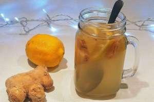 Lemon, Ginger and Honey Tea