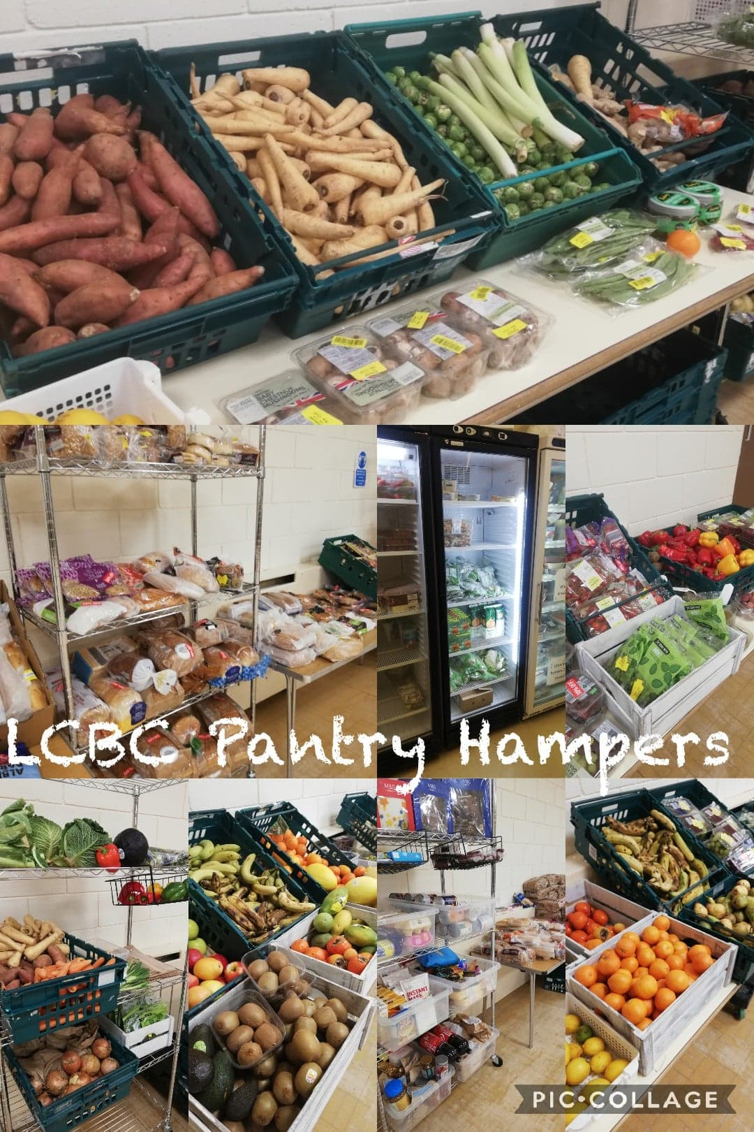 LCBC Pantry Hampers