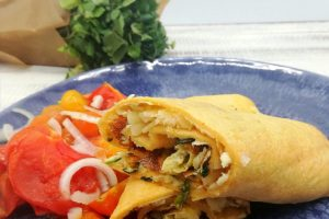 Watercress Tortilla Omelettes