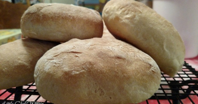 Soft Ciabatta buns (Bread Machine)