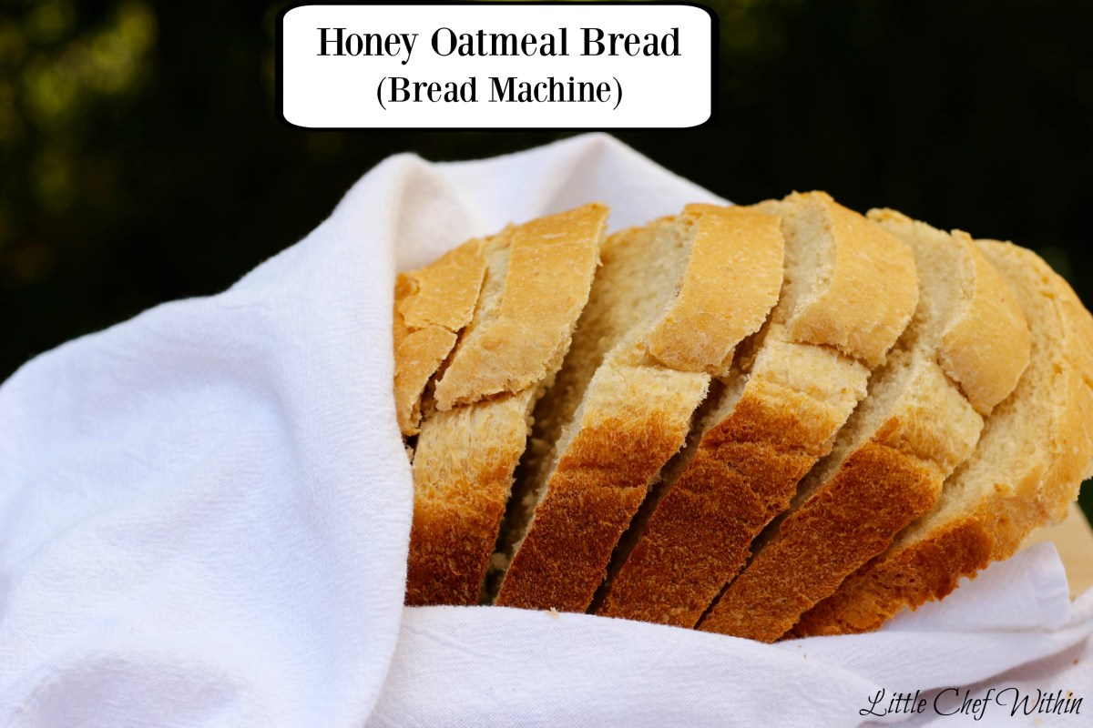 Honey Oatmeal Bread (Bread Machine recipe)