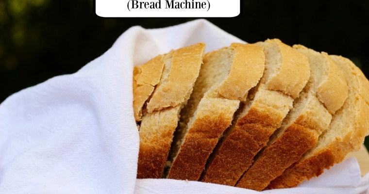 Honey Oatmeal Bread (Bread Machine recipe)