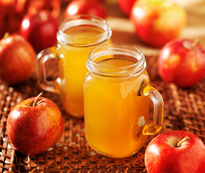 Healthy Fall Apple Spiced Cider Recipe