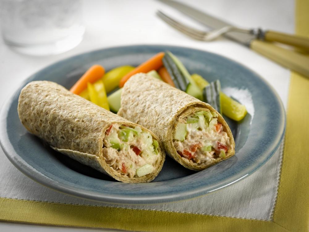 tuna wrap healthy egg salad