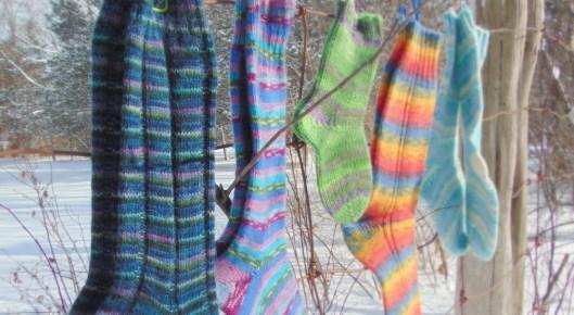 Sock-Tober at Rosehaven