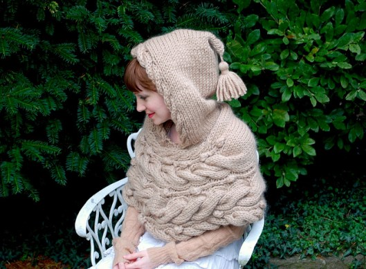 woodland hoodlet by tiny owl knits