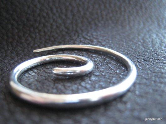 Spiral Shawl Pin