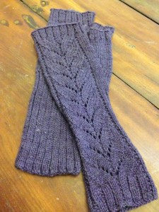 Barn Swallow Mitts in Wampum