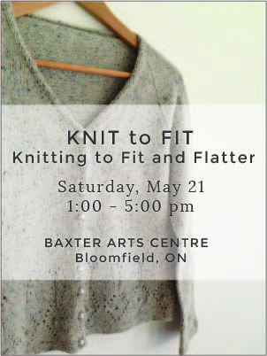 KNIT to FIT: Knitting to Fit & Flatter