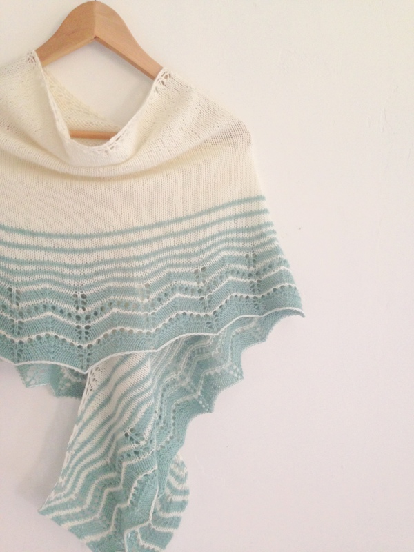 Free Pattern Marcelle Shawl