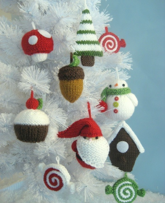 Christmas Ornament Set by Amy Gaines