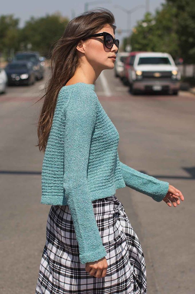 Heckerling Pullover