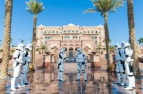 Stormtroopers at the Emirates Palace