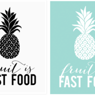 FREE Fruit Printable