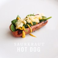 Sauerkraut Hot Dog