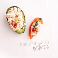 Chicken Salad Boats