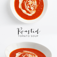 Paleo Roasted Tomato Soup