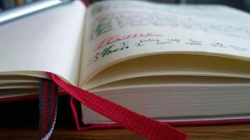 Reward Yourself with the Bullet Journal journal detail | Littlecoffeefox.com