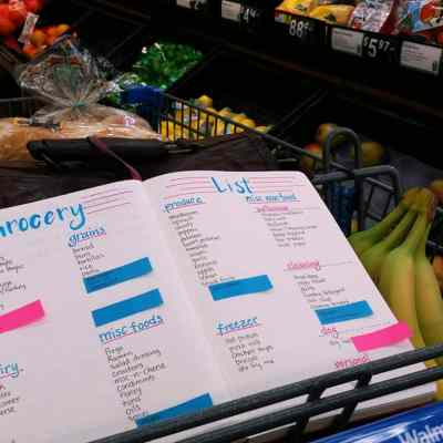 How to Build a Master Grocery List