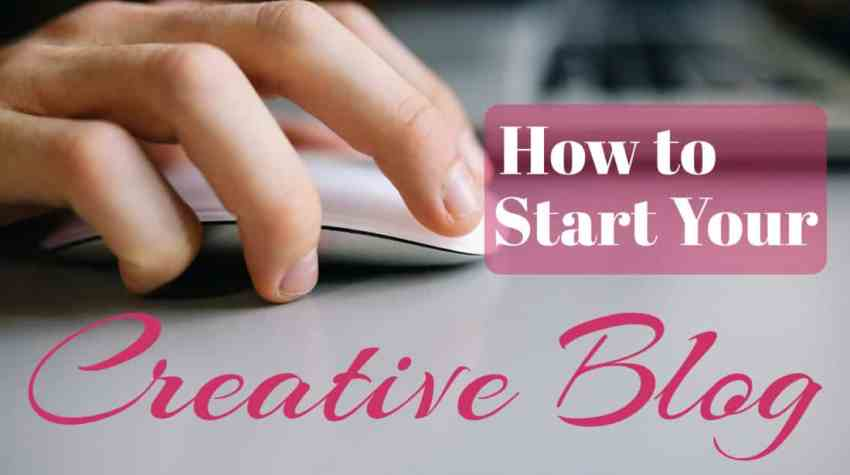 See how easy it is to start your own blog with this step by step guide!