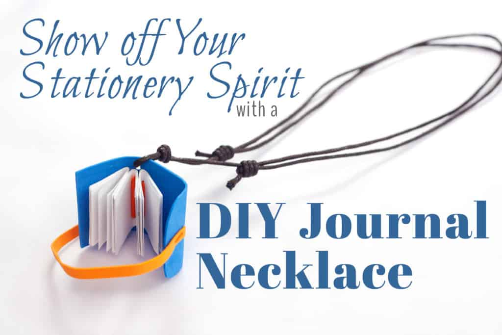 Stationery addicts love having a journal with them at all times to jot down notes. Why not make something that is a cute accessory, too? This DIY journal necklace is the perfect marriage of style and function, since you can actually write on the pages! Learn how to make this delightful little necklace with this step by step tutorial. It's easier than you'd think!