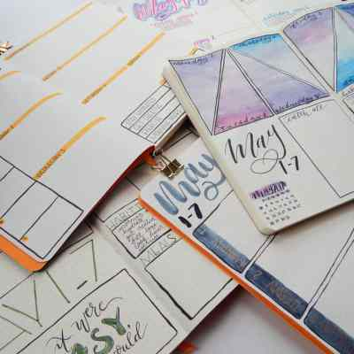 5 Weekly Bullet Journal Spreads You Need to Try ASAP