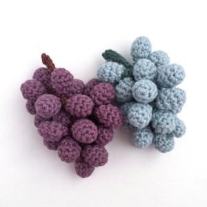 Crochet Grapes Pattern