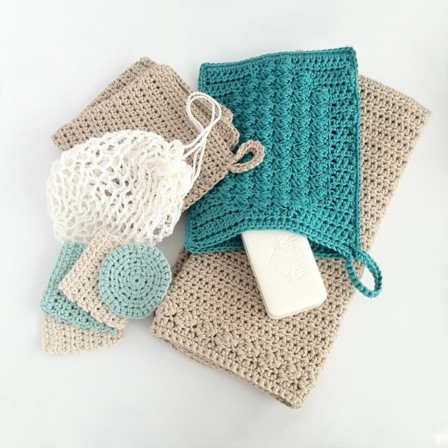 Crochet bathroom set pattern