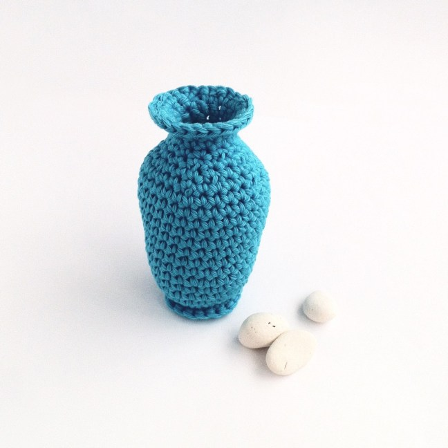 Crocheted Bud Vase