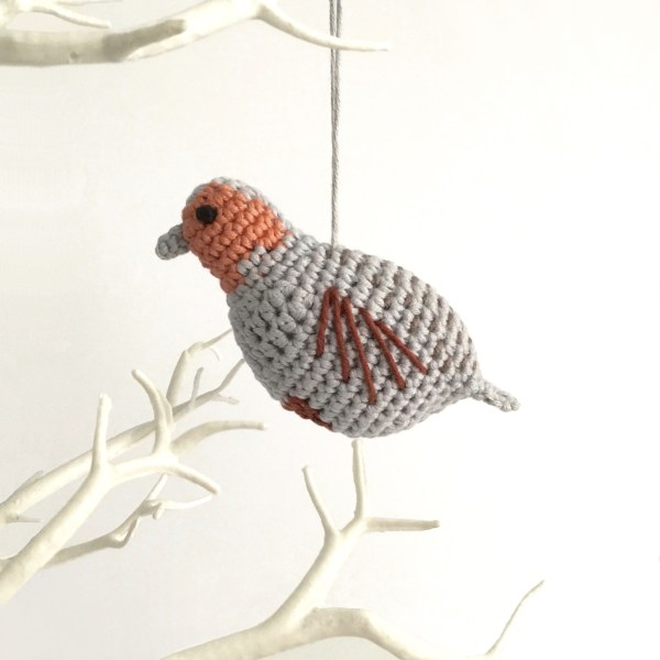 Partridge Crochet Pattern