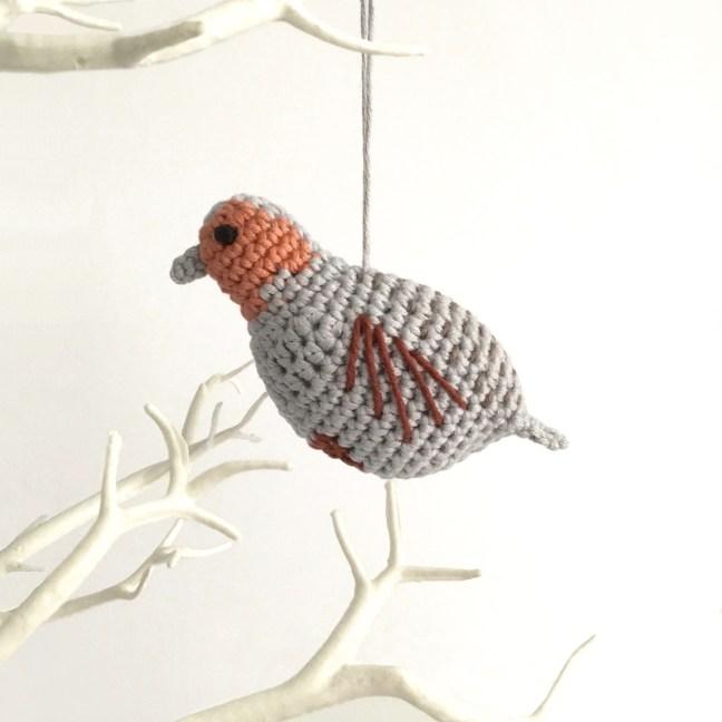 Partridge Crochet Pattern