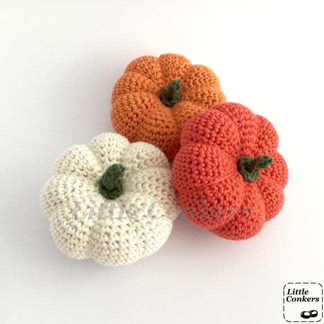 Handmade Mini Pumpkin Ornaments