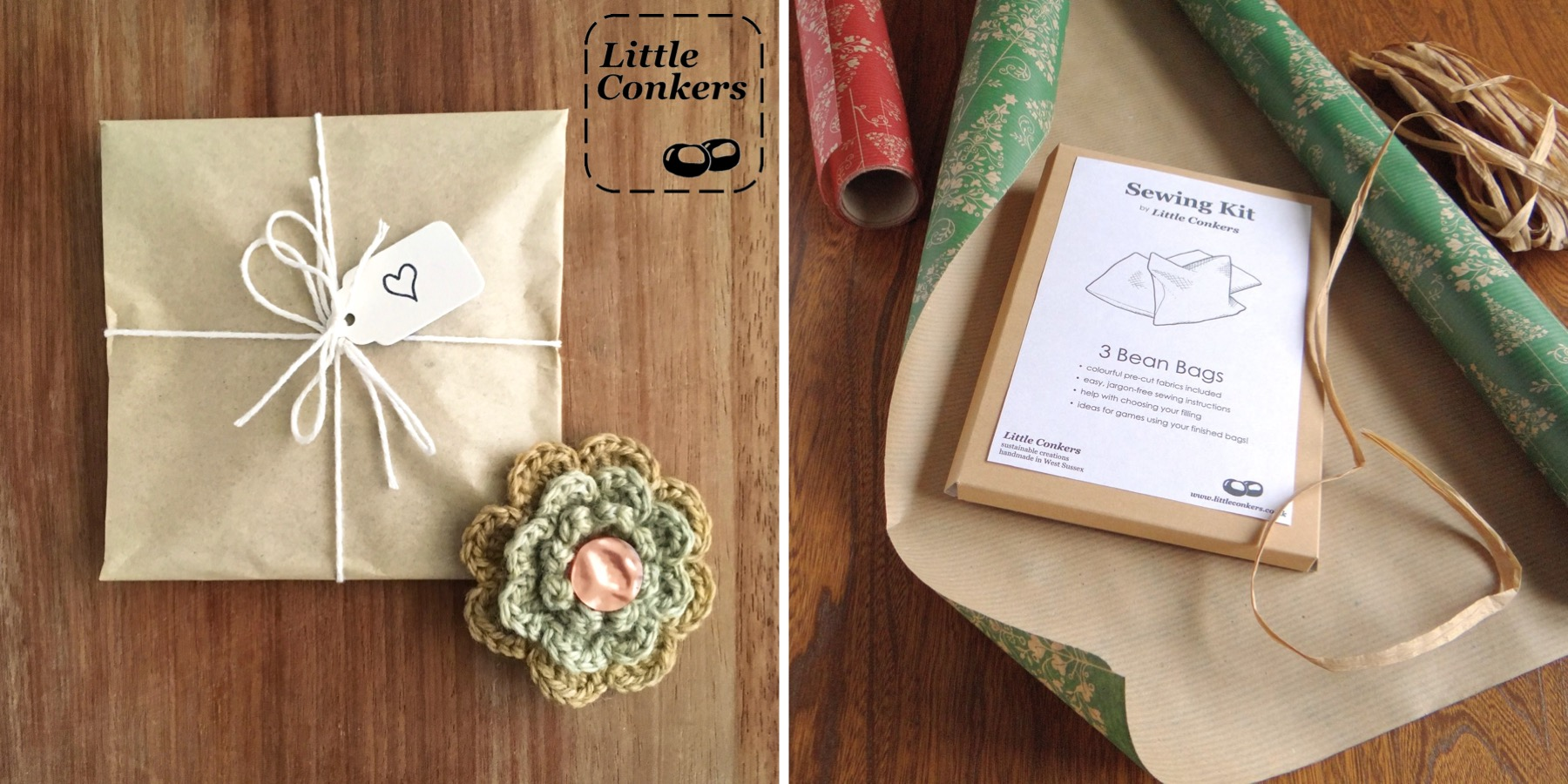 Offering Gift Wrapping On Etsy Little Conkers