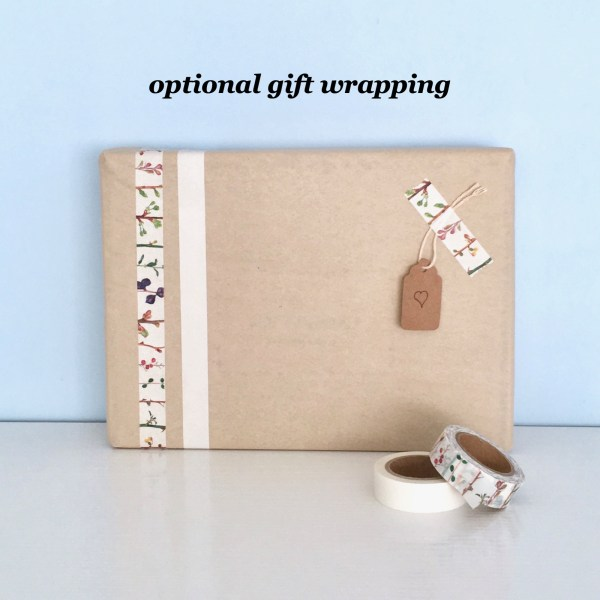 Eco-friendly gift-wrapping for kits