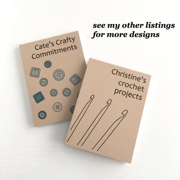 Small notepads with recycled kraft covers