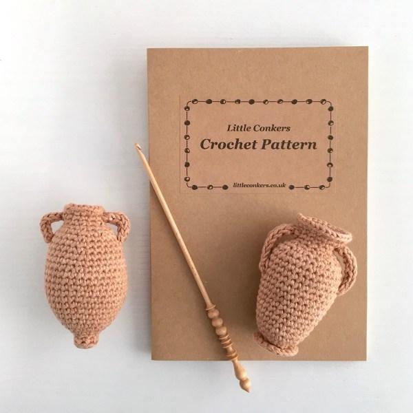 Little Conkers Amphorae Crochet Pattern