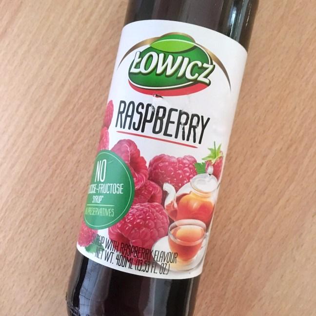 Lowicz Rasberry Fruit Syrup