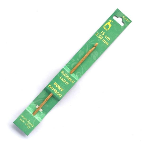 3.5mm Pony Bamboo Crochet Hook