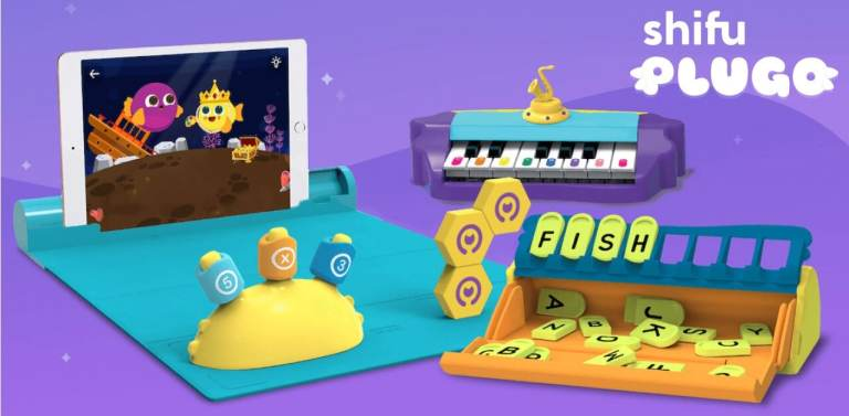 plugo interactive STEM education toy